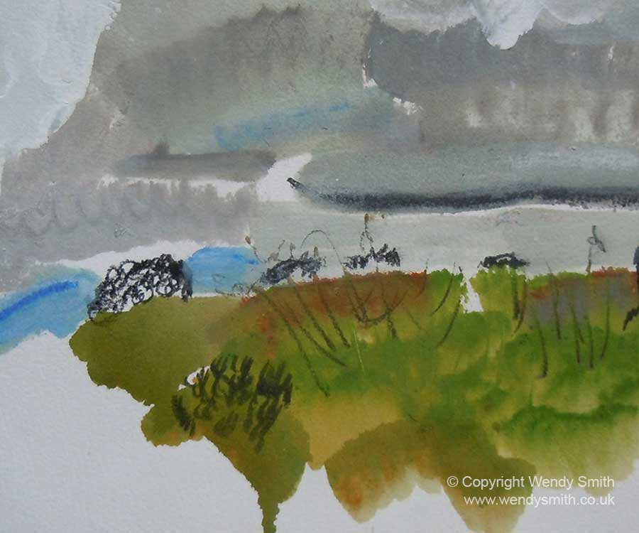Painting on Dartmoor 2015 - Plein Air Painting
