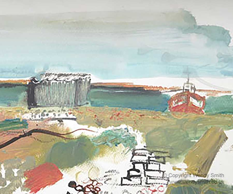Dungeness 2016 - Plein Air Painting
